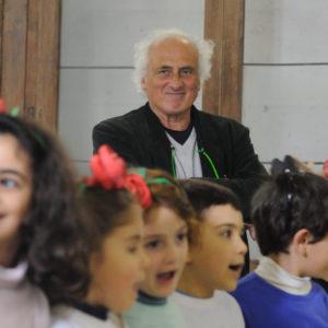 NAPOLI, 27/03/2013 -SAN VINCENZO DEI NUDI, PROGETTO SCALZABANDA. PROVE CON STEFANO BENNI. FOTO DI GIANNI FIORITO